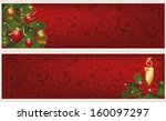 Two Christmas Winter Banners ...