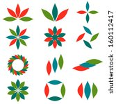 decorative design various... | Shutterstock .eps vector #160112417