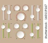 button   design elements | Shutterstock . vector #160119167