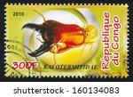 congo   circa 2010  stamp... | Shutterstock . vector #160134083