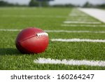 pro american football on the... | Shutterstock . vector #160264247
