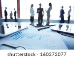 close up of business document... | Shutterstock . vector #160272077