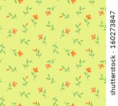 floral vintage seamless pattern. | Shutterstock . vector #160273847
