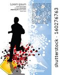 sport vector illustration   Shutterstock .eps vector #160276763