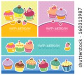 Birthday Dessert Layout Design