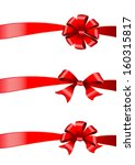 bows design vector | Shutterstock .eps vector #160315817