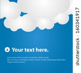 different abstract speech... | Shutterstock .eps vector #160341917