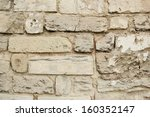Background Of Old Stone Wall...