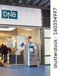 Small photo of VILNIUS, LITHUANIA, OCTOBER 24: DNB bank on October 24, 2013 in Vilnius, Lithuania.