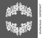 floral design elements | Shutterstock . vector #160365647