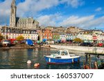 the harbour at cobh. co cork ... | Shutterstock . vector #160537007