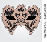 hand drawn decorative carnival... | Shutterstock .eps vector #160562183