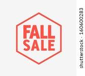 flat design sale discount fall...
