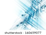 abstract business science or... | Shutterstock . vector #160659077