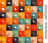 modern flat icon collection....