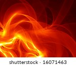 Pyro Pattern - Fractal Design - stock photo