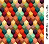 abstract geometric background.... | Shutterstock .eps vector #160780253