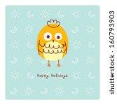 little chicken holiday | Shutterstock .eps vector #160793903