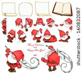 Christmas Set With Paper Blank...