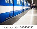 Colorful Underground Subway...