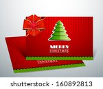 beautiful gift cards for happy... | Shutterstock .eps vector #160892813