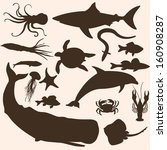 cachalot,cartoon,clip art,computer graphic,crab,crayfish,design,dolphin,draw,eel,elements,fin,fish,fishing,icon