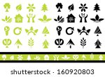 set of 32 ecology icons for... | Shutterstock . vector #160920803