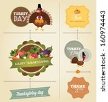 thanksgiving day and harvest... | Shutterstock .eps vector #160974443