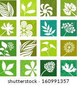 natural icons | Shutterstock .eps vector #160991357
