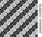 design seamless monochrome... | Shutterstock .eps vector #161008703