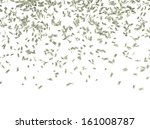 falling money on white | Shutterstock . vector #161008787