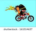ras ta_motorcycle_cartoon