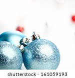 Christmas Decoration  Blue Bal...