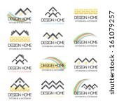 Home Design Icons Set - Isolated On White Background - Vector Illustration, Graphic Design Editable For Your Design.