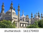 ornate onion domes and minarets ...