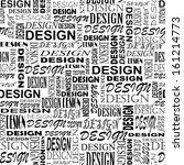design. seamless grunge pattern ... | Shutterstock . vector #161214773