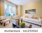 interior design of a luxury... | Shutterstock . vector #161253563