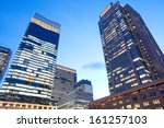 the high rise buildings  | Shutterstock . vector #161257103
