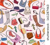 Accessories Pattern. Bags And...