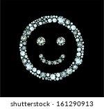 smile made of gems