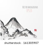 abstract,art,asia,asian,background,china,design,element,fuji,graphic,high,hill,ice,icons,illustration