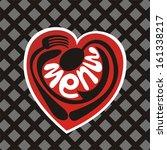 menu vector illustration | Shutterstock .eps vector #161338217