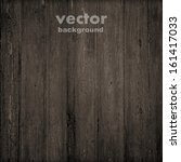 grunge retro vintage wooden texture, vector background - stock vector