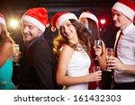 Company Of Friends In Santa...