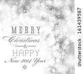 glittery christmas background... | Shutterstock . vector #161439587