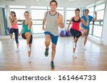 full length portrait of fitness ... | Shutterstock . vector #161464733