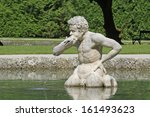 stone sculpture at palace... | Shutterstock . vector #161493623
