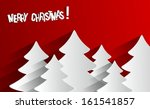 creative abstract merry... | Shutterstock .eps vector #161541857