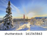 Winter Landscape  Stubba Natur...