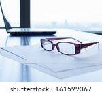 office desk | Shutterstock . vector #161599367